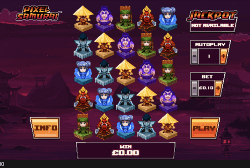 Pixel Samurai Slot