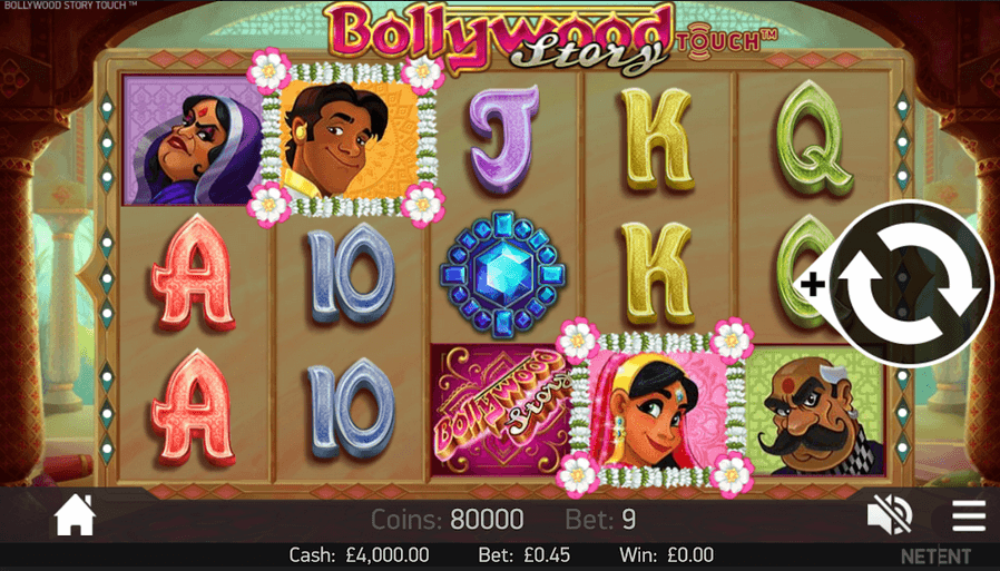 Bollywood Story Slot mobil