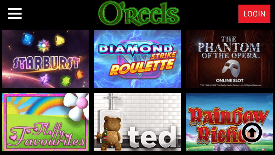 oreels casino app