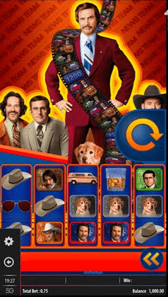 Anchorman Slot mobil