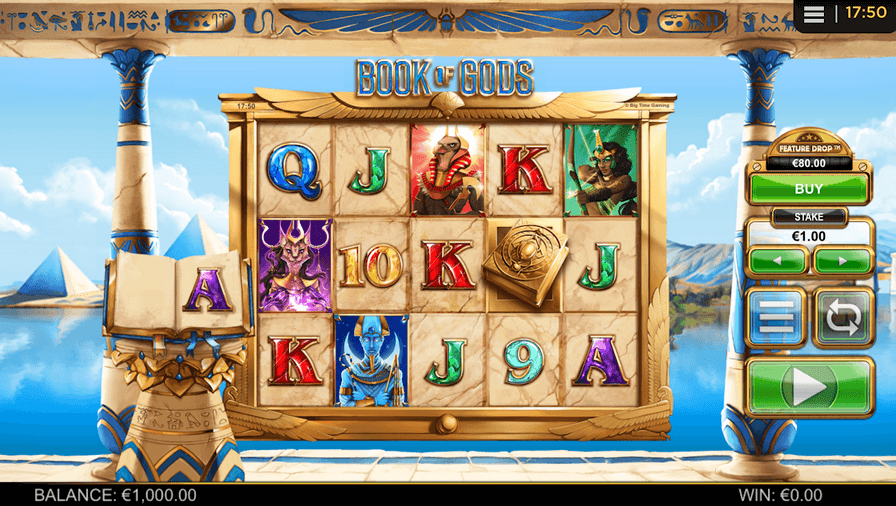 Book of Gods Slot mobil