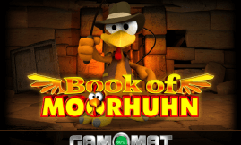 Book of Moorhuhn Slot Gamomat