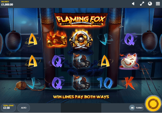 Flaming Fox Slot