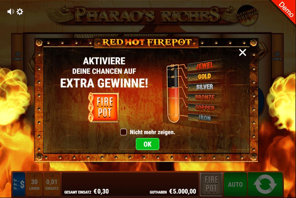red hot fire pot jackpot