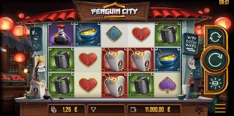 Penguin City Slot mobil
