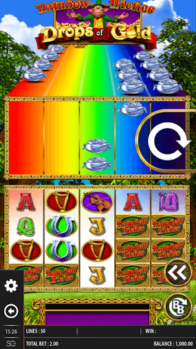 Rainbow Riches Drops of Gold mobil