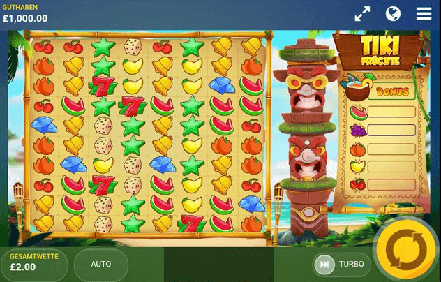 Tiki Fruits Slot mobil