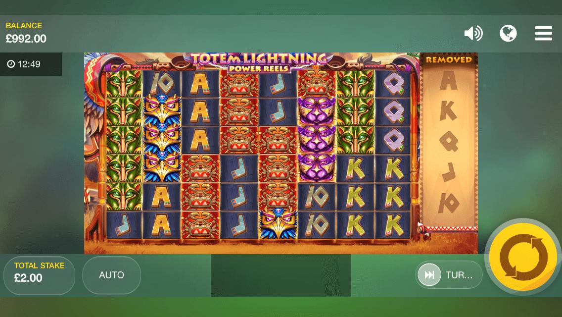 Totem Lightening Power Reels Slot mobil