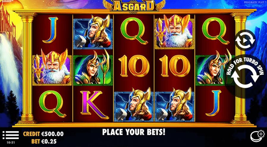 Asgard Slot mobil test