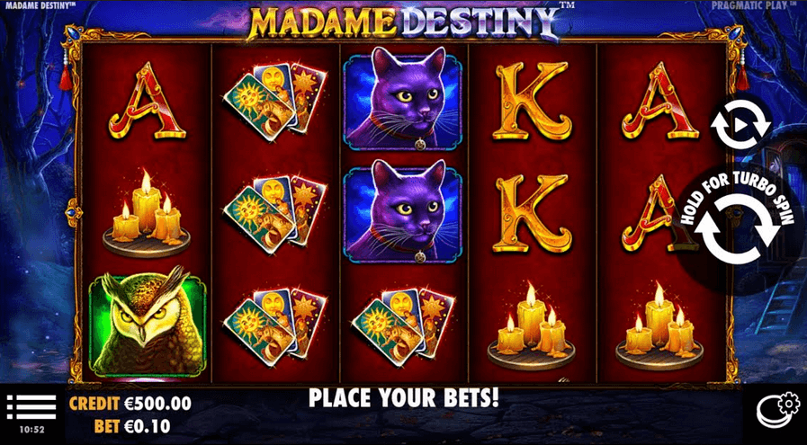 Madame Destiny Slot mobil