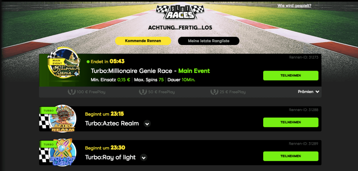 888 casino aktionen slot races