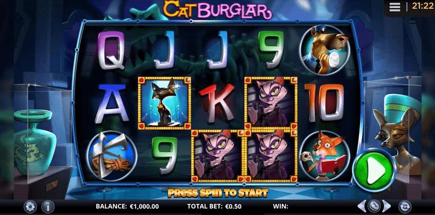Cat Burglar Slot Mobil