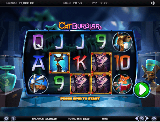 Cat Burglar Slot