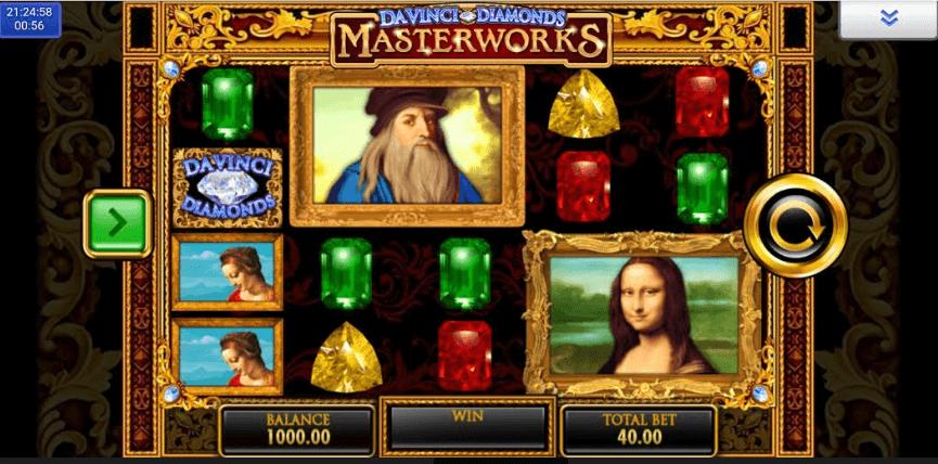 Da Vinci Diamonds Masterwork mobil