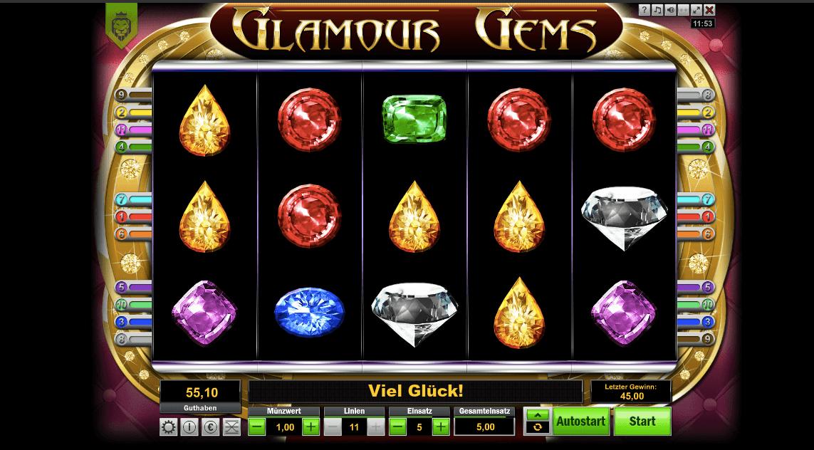 Glamour Gems Slot
