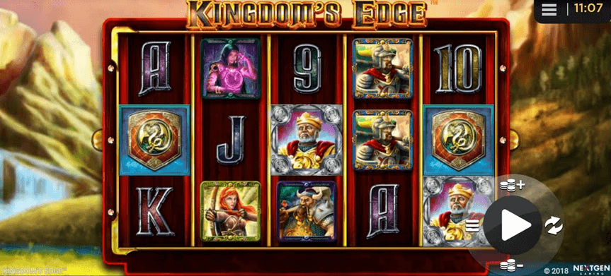 Kingdom's Edge Slot mobil