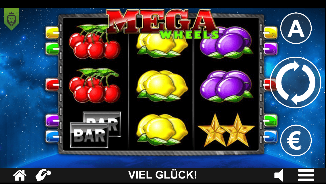 Mega Wheels Slot mobil