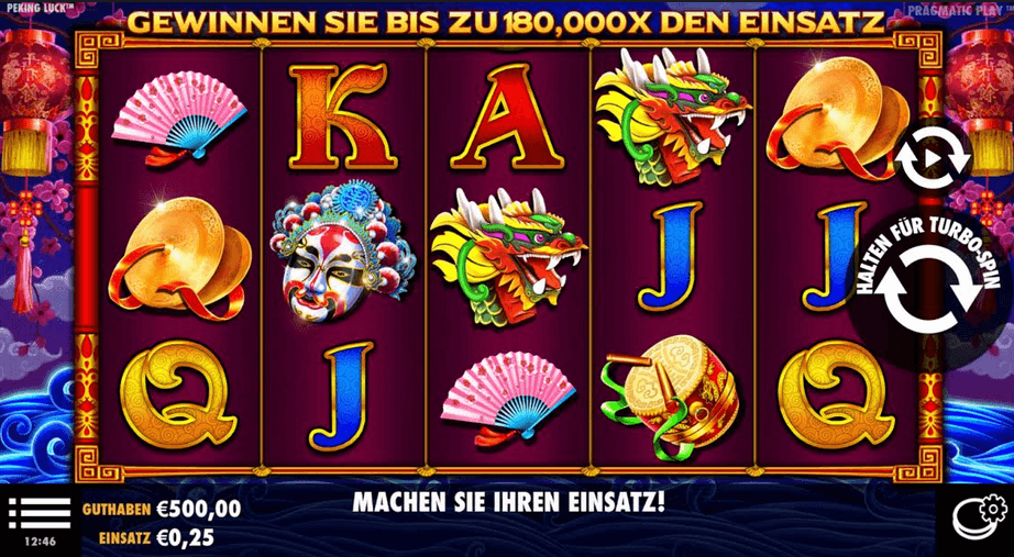 Peking Luck Slot mobil