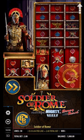 Soldier of Rome slot mobil