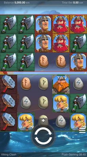 Viking Clash Slot mobil