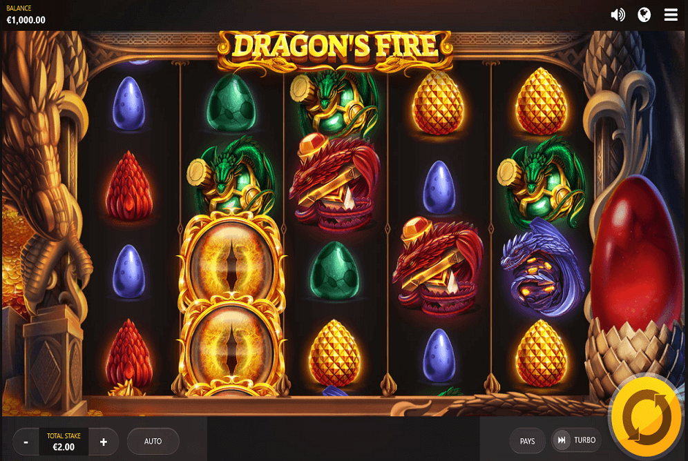 Dragon's Fire by Red Tiger released on is a 5-reel & 4-row online slot with 40 paylines and a % RTP.This is a fantasy-themed game offering players a max win of up to x their stake.Dragon's Fire can be played on all devices from € to €40 .Çaycuma