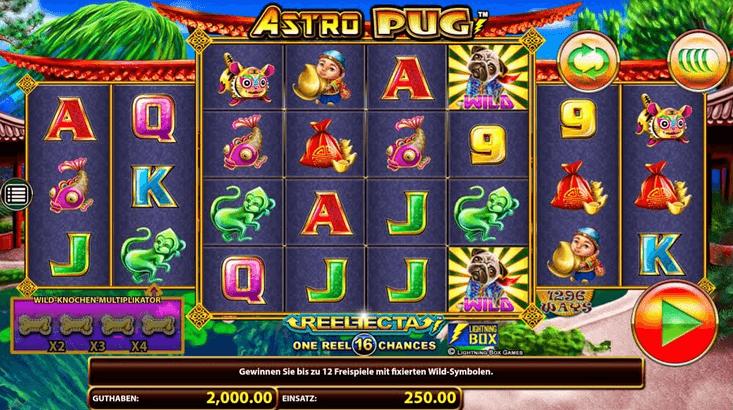 Astro Pug Slot Mobil