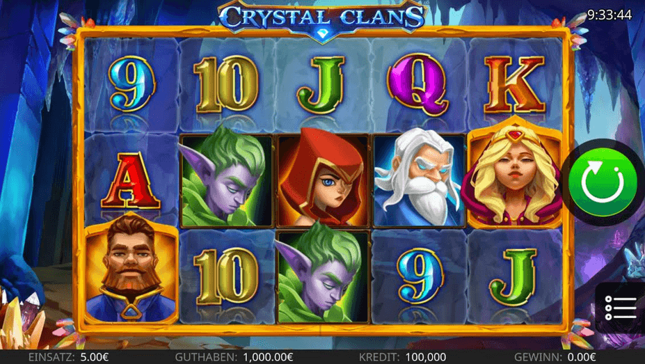 Crystal Clans Slot Mobil