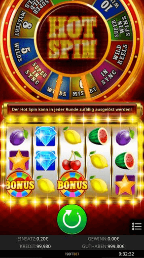 Hot Spin Slot Mobil