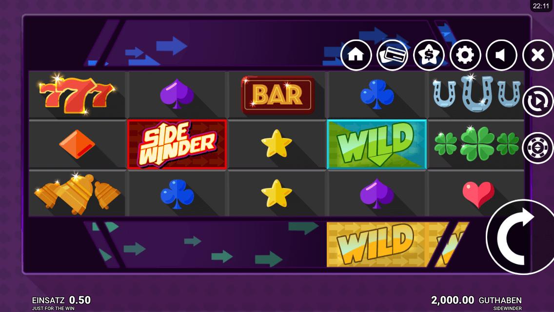 Sidewinder Slot mobil