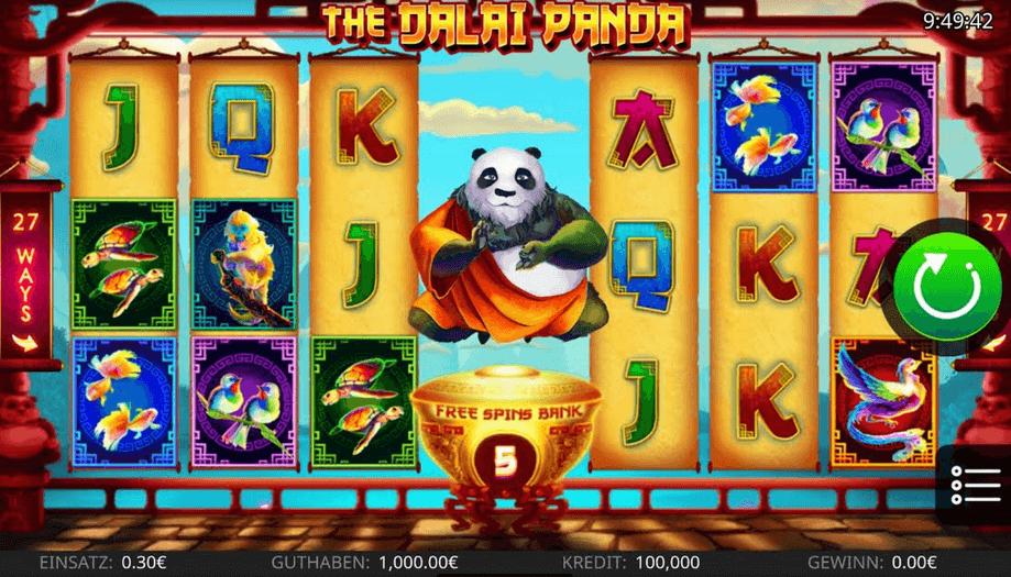 The Dalai Panda Slot Mobil