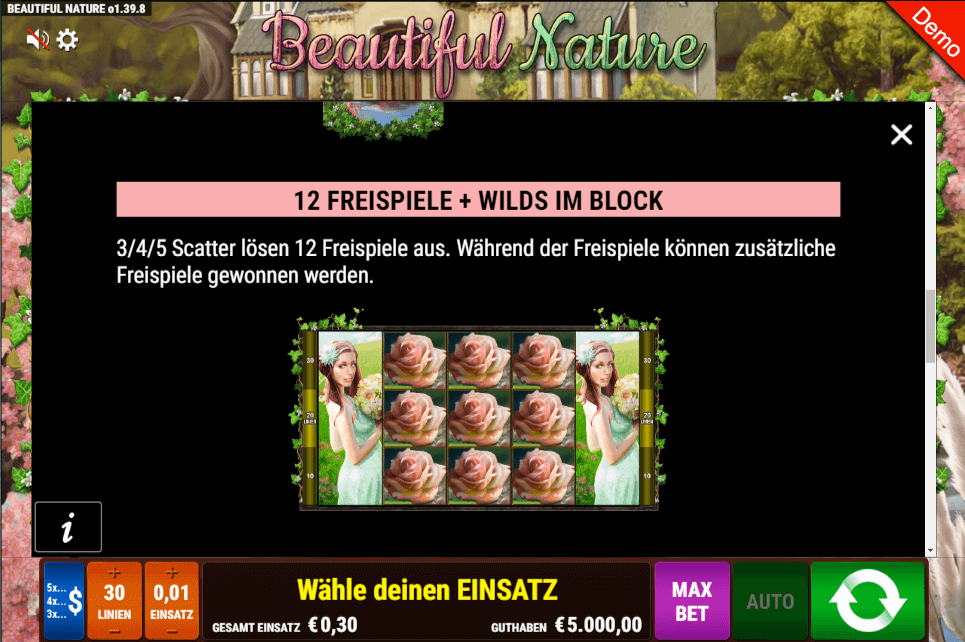 Beautiful Nature Slot Wild
