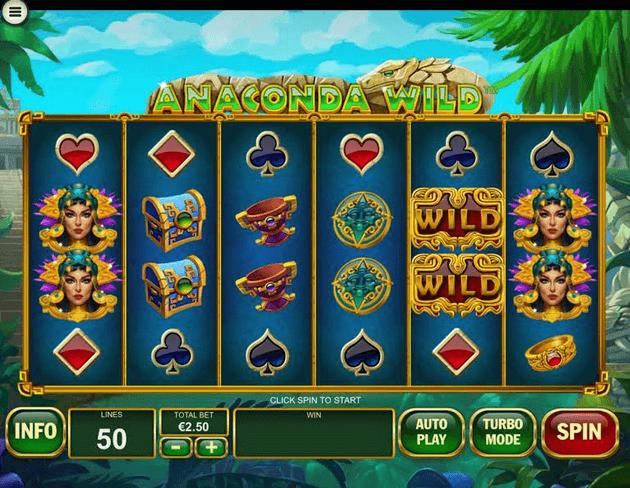 Anaconda Wild Slot mobil