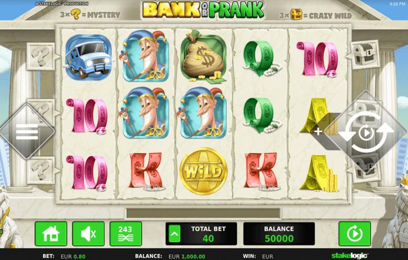 Bank or Prank Slot mobil