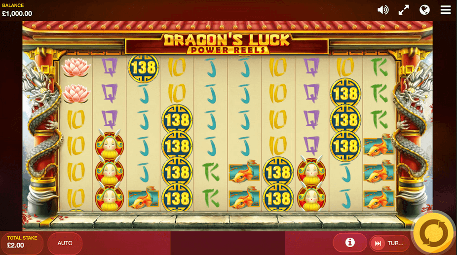 Dragons Luck: Power Reels Slot
