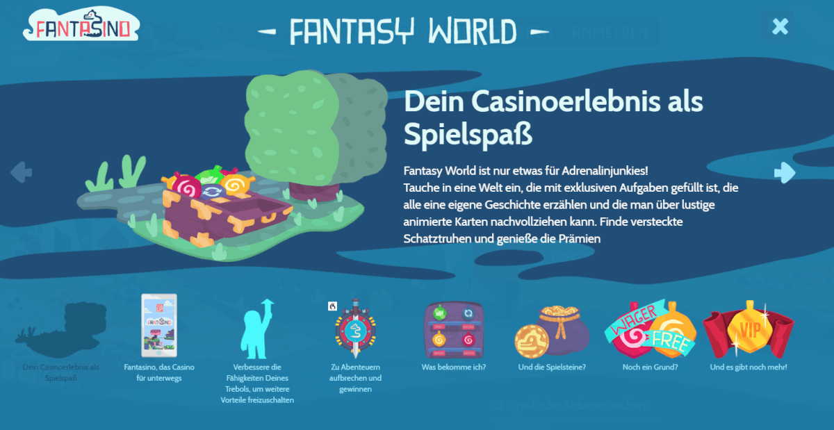 Fantasino Fantasy World