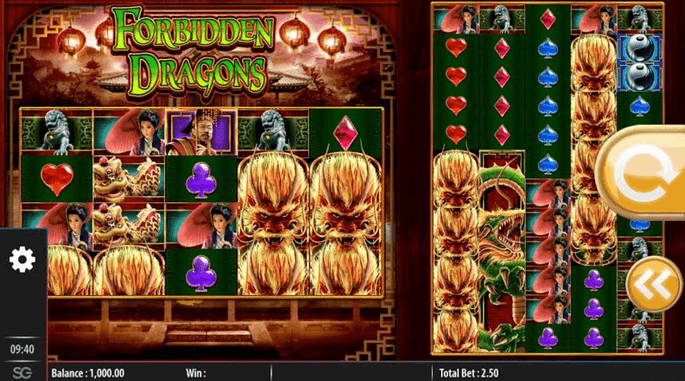Forbidden Dragons Slot Mobil