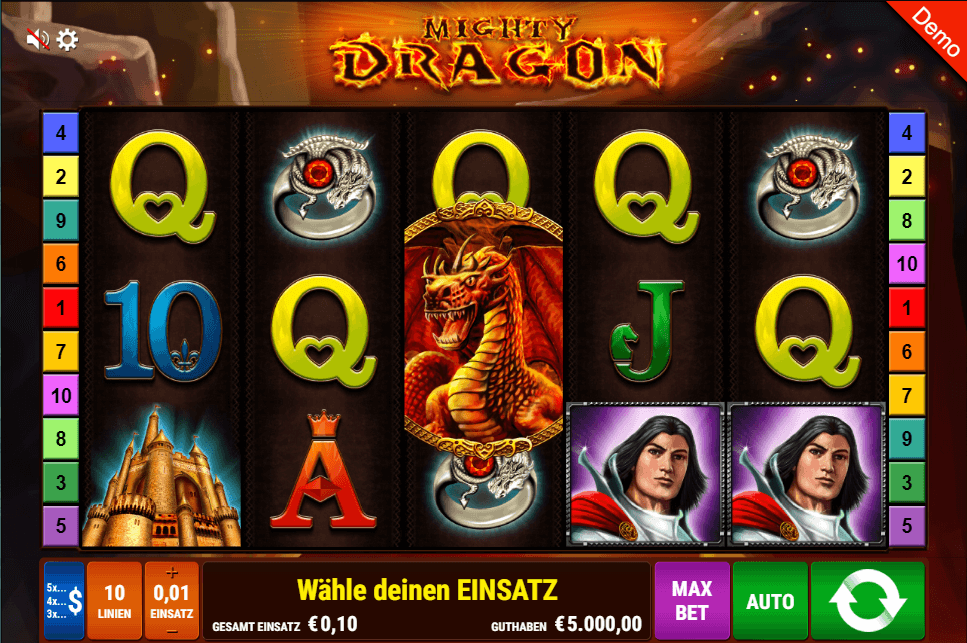 Mighty Dragon Slot Picture