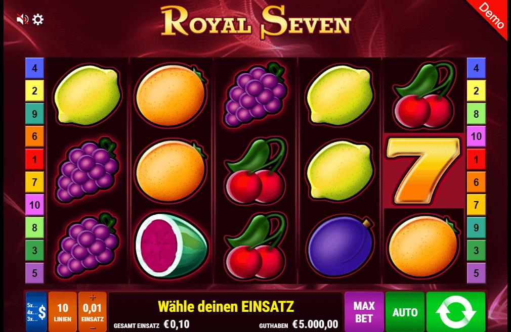 Royal Seven Spielautomat