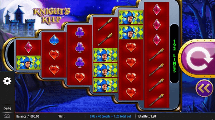 Knights Keep Slot mobil