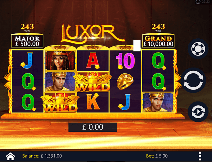 Luxor Slot mobil