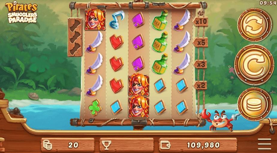 Pirates Smugglers Paradise Slot mobil