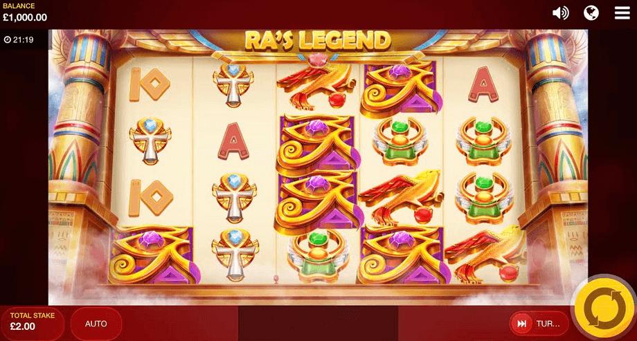 Ra's Legend Slot mobil