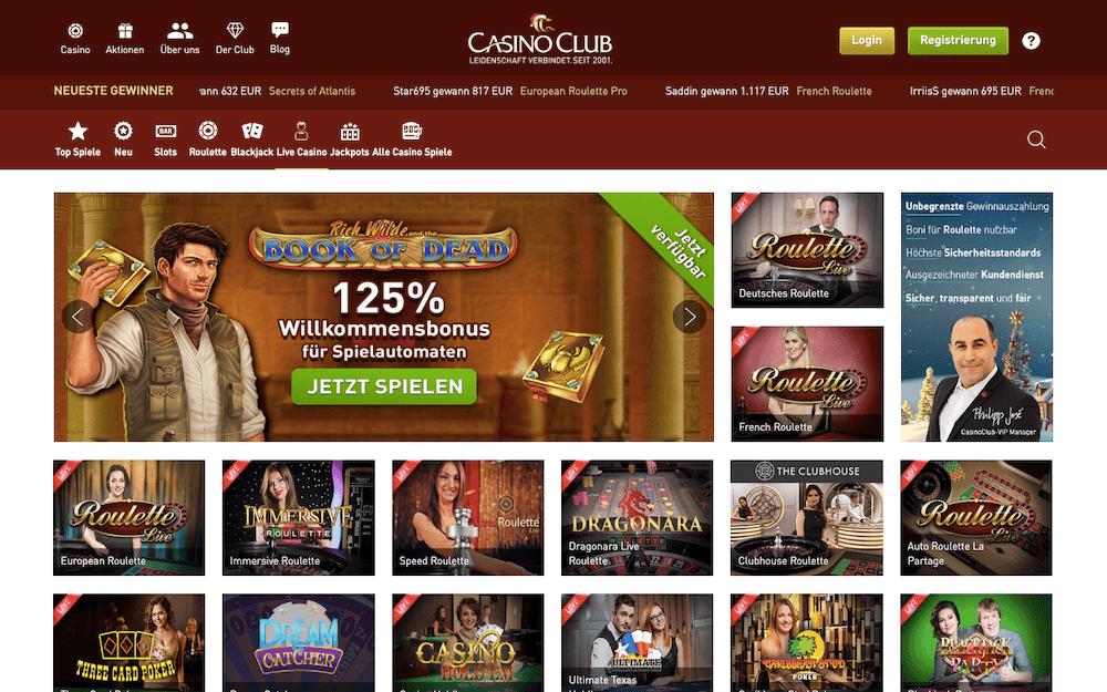 casinoclub live casino