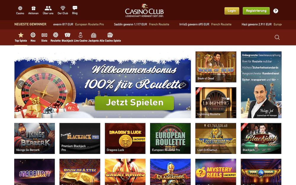 casinoclub lobby
