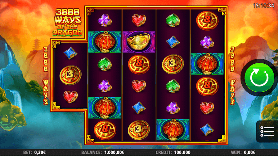 3888 Ways of the Dragon Slot mobil