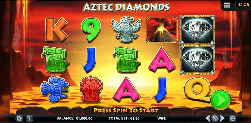 Aztec Diamonds Slot mobil