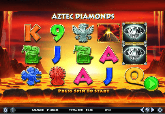 Aztec Diamonds Slot