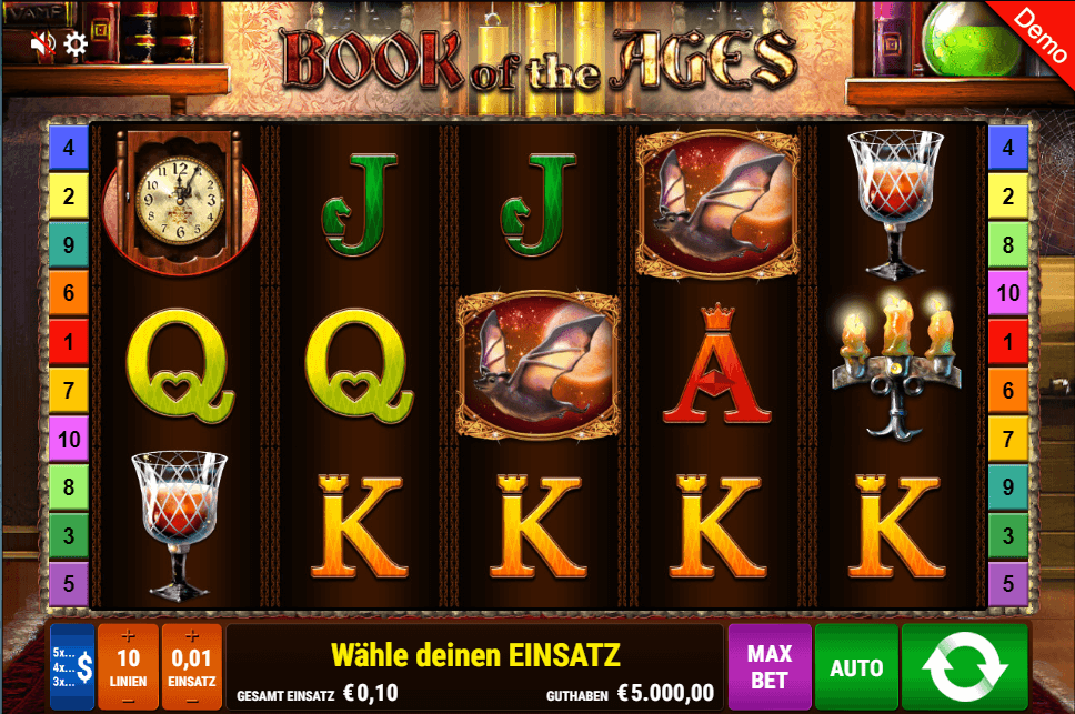 Gamomat Book of Ages Slot