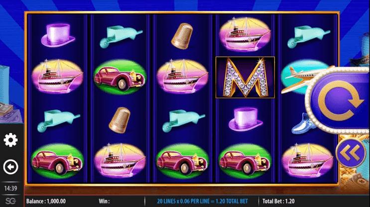 Monopoly Big Money Reel Slot Mobil