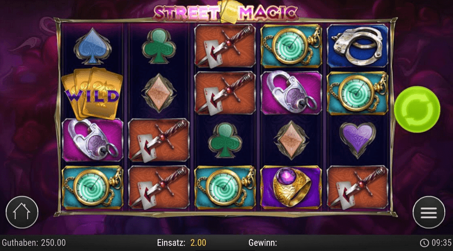 Street Magic Slot Mobil